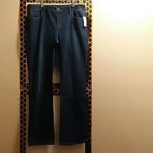 OLD NAVY JEANS, BOOTCUT, SIZE 14